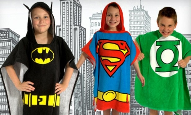 SuperHero Personalized Kids Bath Towels